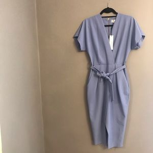 CLOSET LONDON Kimino Wrap Dress with Tie, s2